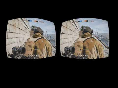 Rainbow Six Siege 3D VR MOVIE OCULUS RIFT VIRTUAL REALITY HTC VIVE