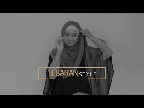 [HIJAB TUTORIAL elzatta] Adhitya Princess elegant shawl for Lebaran