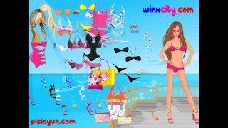 Барби меряет классный купальник!  Игра для девочек! Мультик для девочек!