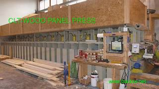CLT Wood Press