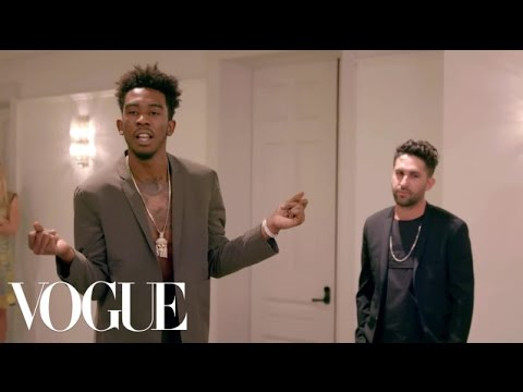 Desiigner Models Clothing & Raps a Verse for Anna Wintour | Vogue