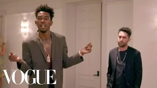 Desiigner Models Clothing & Raps a Verse for Anna Wintour | Vogue