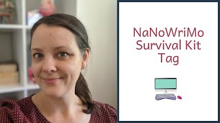 NaNoWriMo Survival Kit | Tag by Write Holly Davis