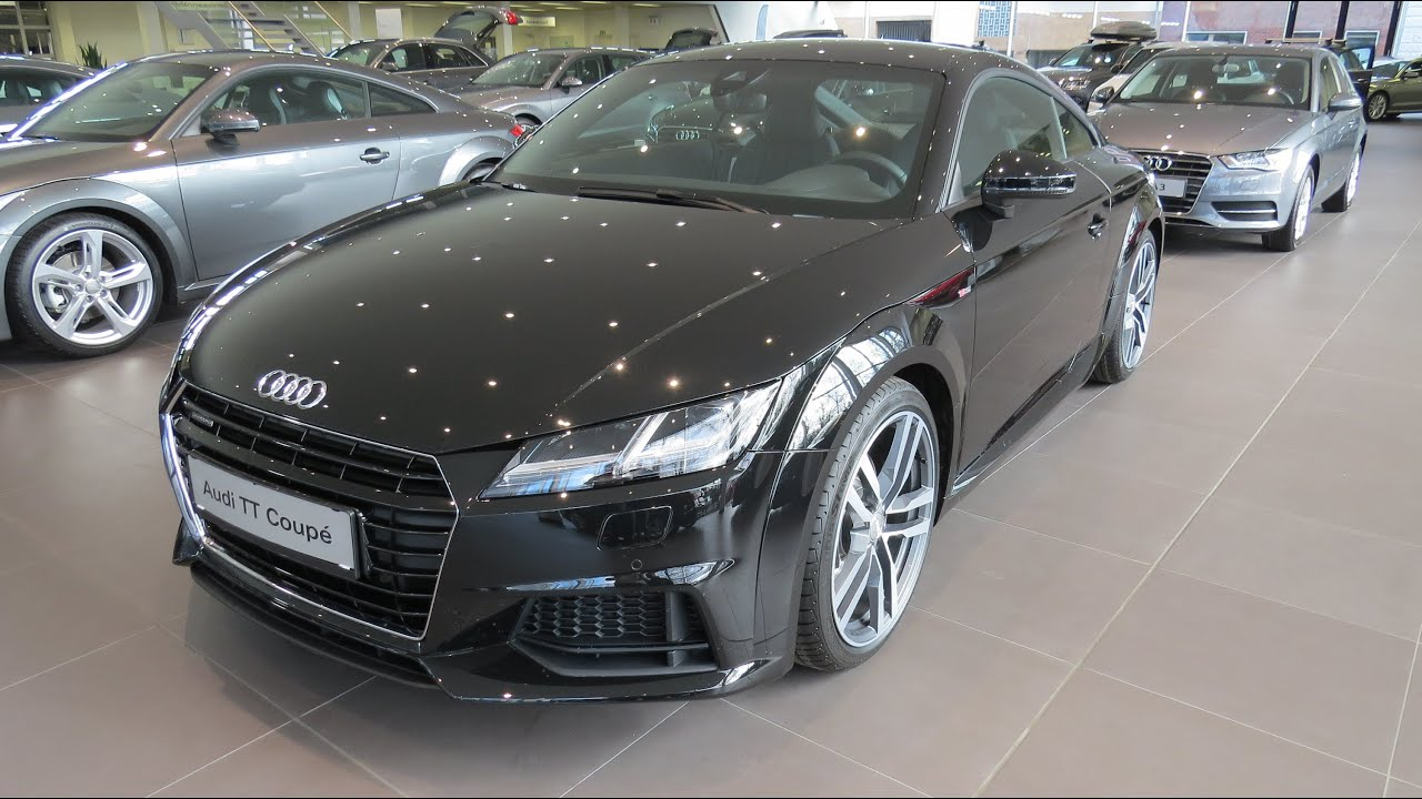 2015 audi tt coupe 2 0 tfsi quattro s line s tronic youtube. Black Bedroom Furniture Sets. Home Design Ideas