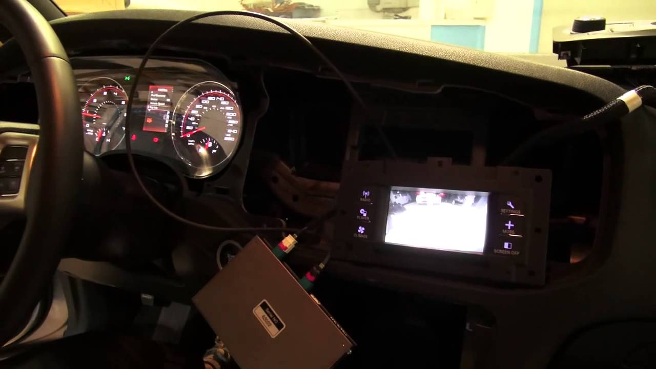 maxresdefault 2014 dodge new charger rear view camera installation fca09 cam  at fashall.co