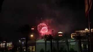 Las Vegas Free Attractions: Las Vegas July 4th Fireworks 2014