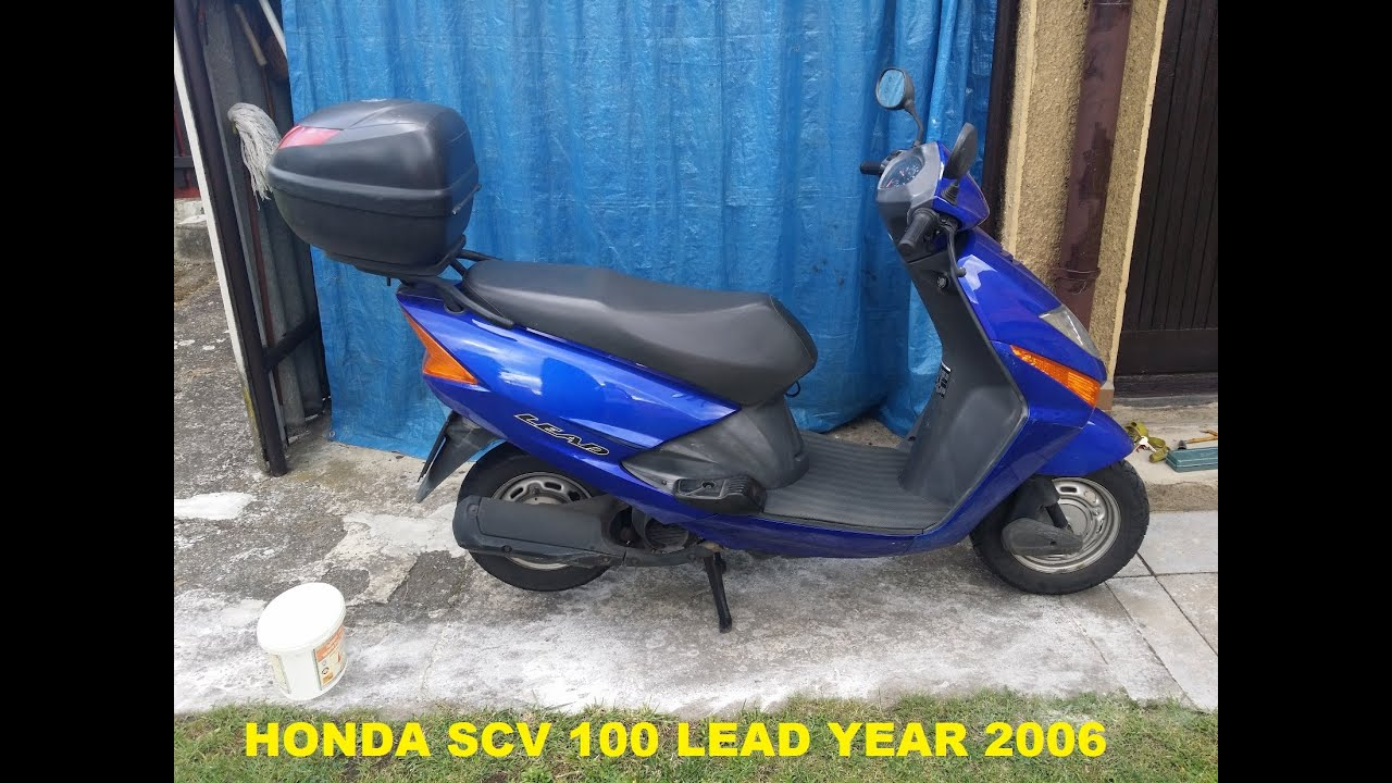 scooter honda lead scv 100 full service manual [ 1280 x 720 Pixel ]