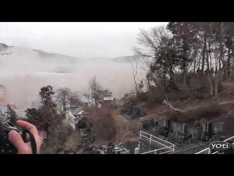 Dramatic Japan Tsunami footage (Prt5)