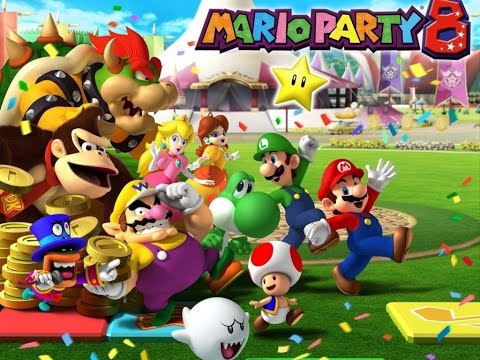 Mario Party 8 - Minigame Tent - Free Play Arcade: 4-Player