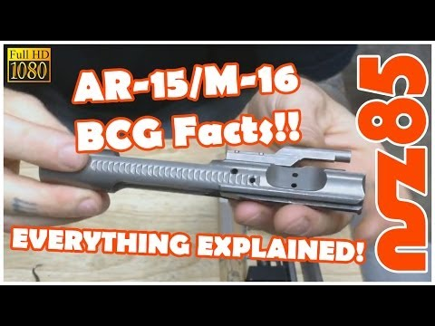 AR-15 - BCG Facts & What To Know - CIV Tactical