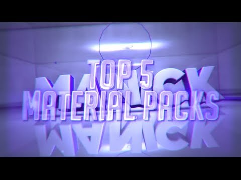 TOP 5 FREE MATERIAL PACKS (C4D) #1 - Prestige Intros