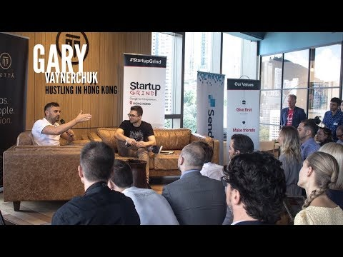 Gary Vaynerchuk at Startup Grind Hong Kong: Family, Work-Life Balance, Silicon Valley and Intuition