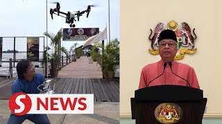 Ismail Sabri: Obtain CAAM clearance before flying drones