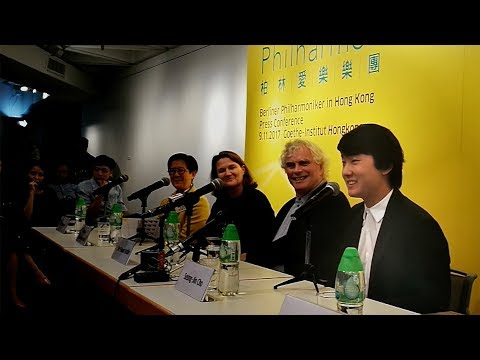Press conference in Hong Kong / #BerlinPhilAsia17