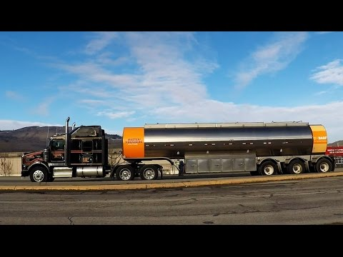 BIG RIGS ROLLIN' ON! #6 -- TANKER TRUCKS TRANSPORTING VARIOUS LIQUID BULK