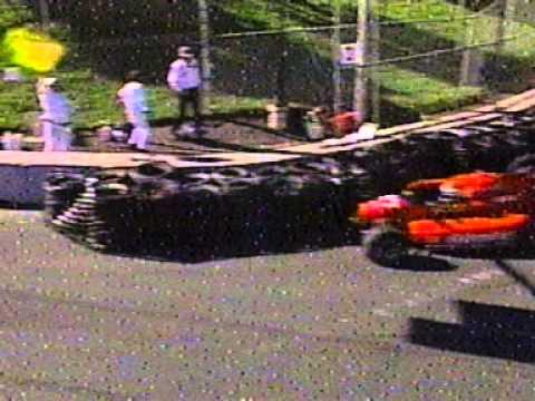 Greg Harrington Big Crash 1997 Formula Atlantic at Toronto