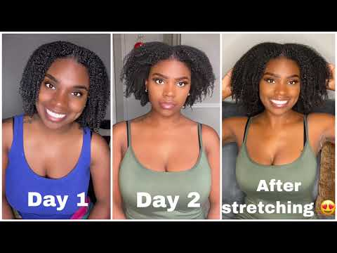 Stretch and Elongate your Wash and Go