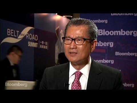 Financial Secretary Chan on Hong Kong Property Prices