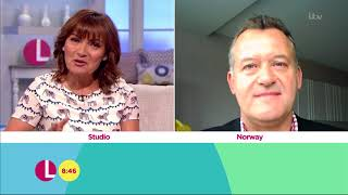 Paul Burrell Has a Lovely Message for Prince Harry and Prince William | Lorraine