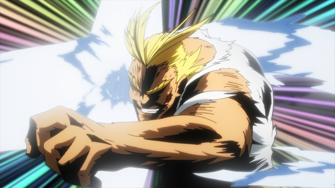 All Might vs Noumu Full Fight (60fps) - YouTube