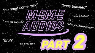 Download lagu MEME SOUND EFFECTS FOR EDITING | [PART 2]