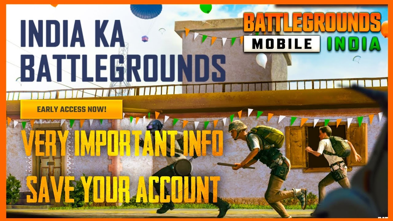 BATTLEGROUNDS MOBILE INDIA : VERY IMPORTANT INFO ( RULES OF CONDUCT )