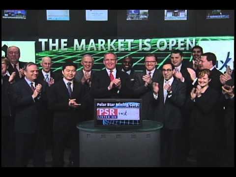 Polar Star Mining Corporation (PSR:TSX) Opens Toronto Stock Exchange, January 31, 2011.