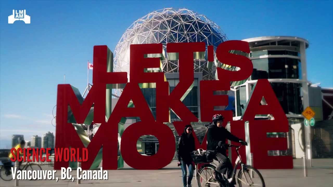 Let's Make a Movie @ Science World - Vancouver Feature Film Pitch Contest by Media Factory Inc.