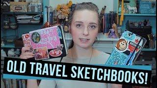 MY OLD TRAVEL SKETCHBOOKS | Sketchbook Tour!