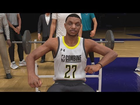 NBA 2K20 My Career EP 4 Draft Combine!