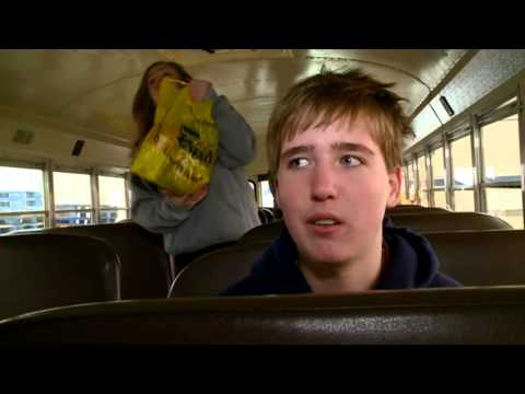Aquinas middle schoolers 'Stuff the Bus'