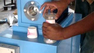 semi automatic paper cup machine operation
