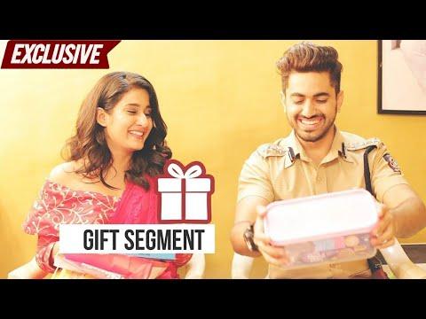 Zain Imam & Aditi Rathore Unwrap Gifts from FANS   Exclusive Gift Segment   Naamkarann thumbnail