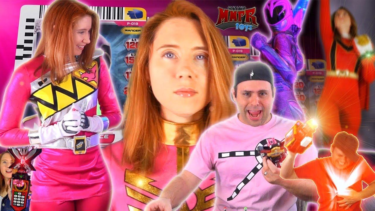 Power Rangers Bruno & Mia Epic Awesome Battles! MMPRtoys - YouTube