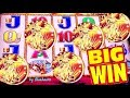 ★5 COINS AGAIN!★ BUFFALO GOLD slot machine BONUS BIG WIN!