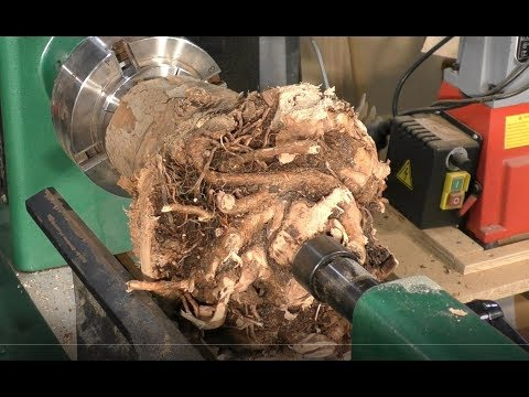 Wood-turning the $56,000 *Root of all evil*👹😱 bowls,🤯