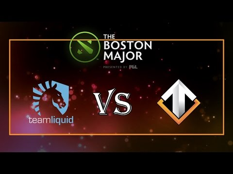 Team Liquid vs Escape Gaming - The Boston Major: Europe Qualifier 2016