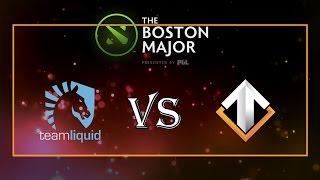 Team Liquid vs Escape Gaming - The Boston Major: Europe Qualifier 2016
