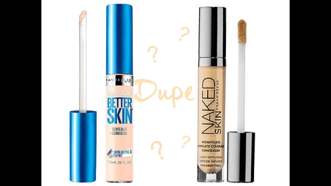 Maybelline Better Skin Urban Decay Naked Dupe