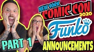 Funko Announcements NYCC 2020 | Virtual Con 5 | PART 1