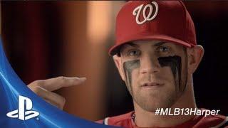 "MLB 13 Cover Showdown | Bryce Harper ""Game Faces"""