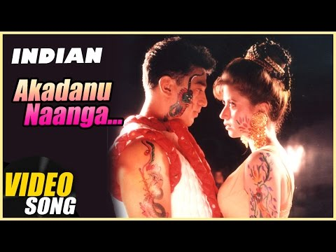 Akadanu Naanga Video Song | Indian Tamil Movie | Kamal Haasan | Urmila Matondkar | AR Rahman