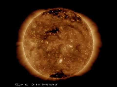 Stellar cores in sun's corona 1/10/17
