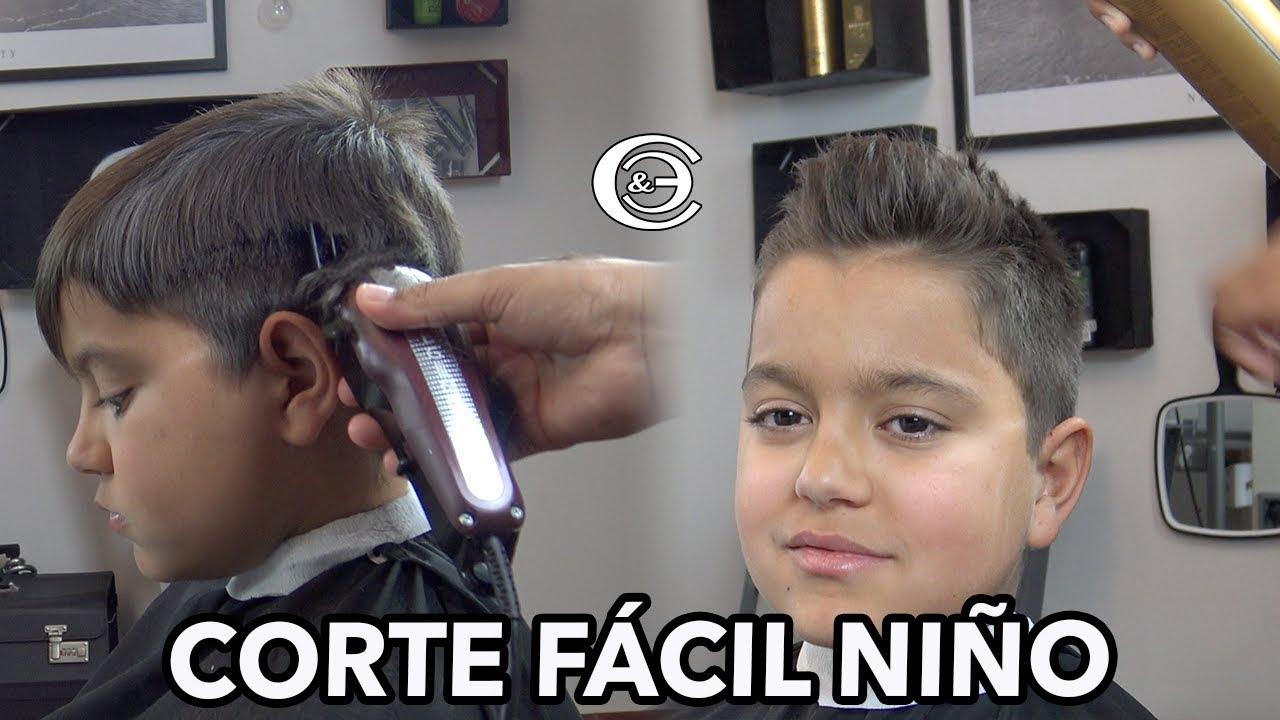 Videos de cortes de cabello faciles