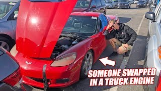 Download We Bought an Auction Corvette and It's an Absolute Nightmare... (Truck Engine Inside) Mp3 and Videos