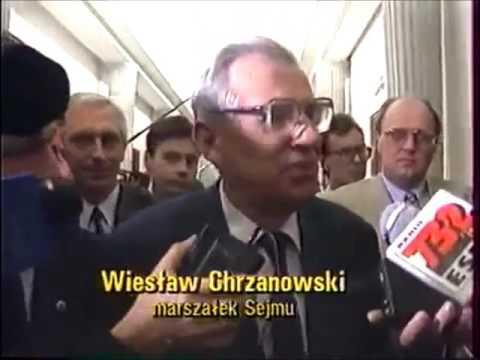 29.05.1993 Wałęsa rozwiązuje Sejm. Leszek Miller kontra marszałek