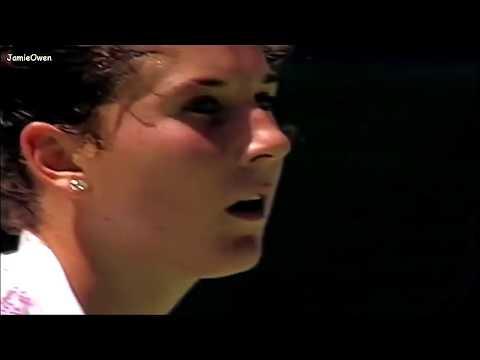 Monica Seles Vs Steffi Graf 1993 AO Highlights