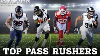 Top NFL Pass Rushers heading into 2015: Move the Sticks (08.27.15)