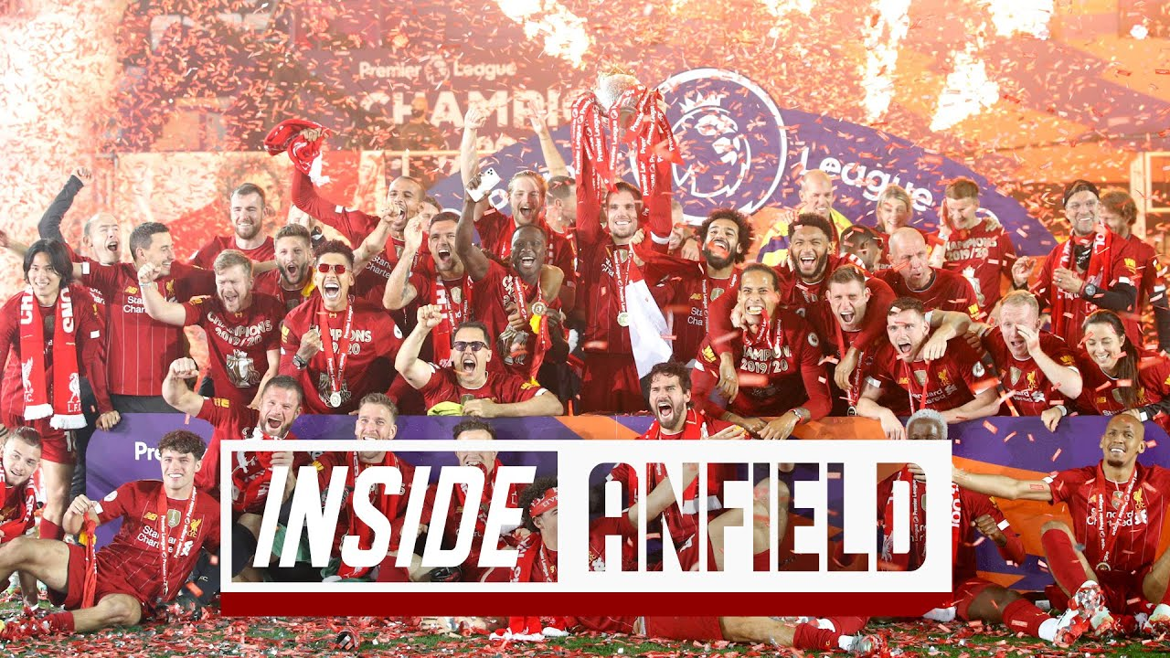 Inside Anfield: UNSEEN footage from the Premier League trophy lift | Liverpool vs Chelsea