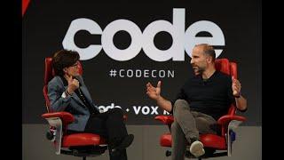 "Uber CEO Dara Khosrowshahi says he wants to be the ""Amazon of transportation"" | Code 2018"